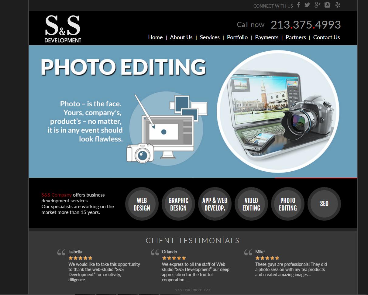 Сайт для вэб-студии